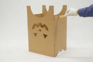 ダンボールマスクの組立方
